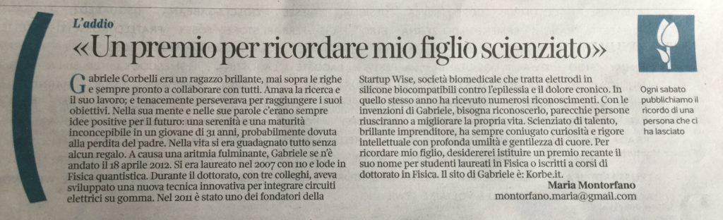 Articolo-Premio-Corriere
